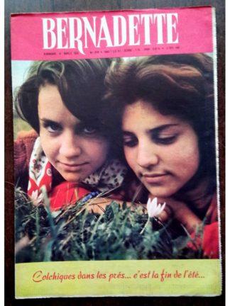 BERNADETTE N°219 (4 septembre 1960) Moustache et Trottinette (Calvo) Mon beau château (Marie-Mad Bourdin)