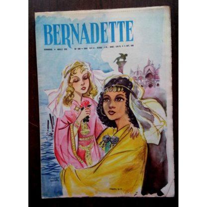 BERNADETTE N°220 (11 septembre 1960) Moustache et Trottinette (Calvo) Marco Polo (Pierdec)