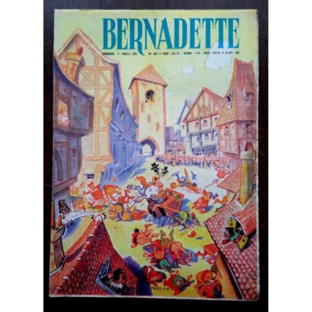 BERNADETTE N°221 (18 septembre 1960) Moustache et Trottinette (Calvo) Marco Polo (Pierdec)