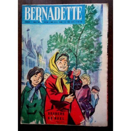 BERNADETTE N°235 (25 décembre 1960) Moustache et Trottinette (Calvo) La branche de Noël (Jeannine Janvier)