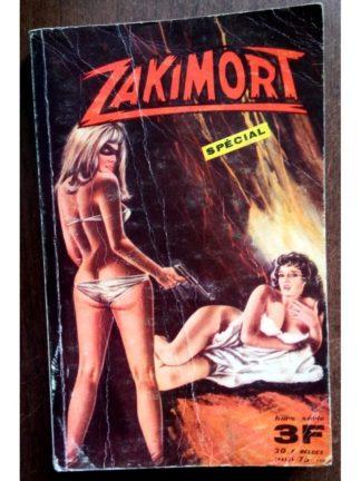 ZAKIMORT SPECIAL N°1 Le Masque de la Haine - EDITIONS DE POCHE 1968