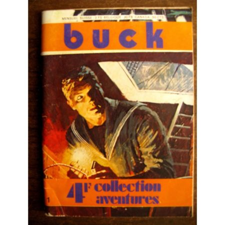 BUCK N°1 Les serpents de Mani-Mani (Jean alistate) ELISA PRESSE 1974