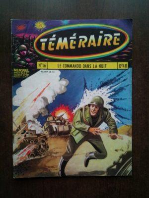 TEMERAIRE (1E SERIE) N°16 TOMIC (Le Commando dans la Nuit) ARTIMA 1960