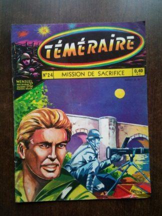 TEMERAIRE (1E SERIE) N°24 TOMIC (Mision de Sacrifice) ARTIMA 1960