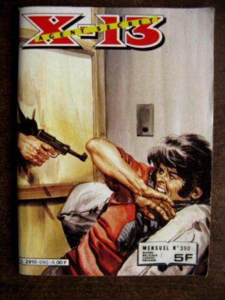 X13 AGENT SECRET N°390 Champ Magnifique (IMPERIA 1982)