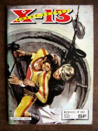 X13 AGENT SECRET N°391 L'homme à la sarbacane (IMPERIA 1982)