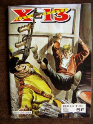 X13 AGENT SECRET N°393 La poupée pleureuse (IMPERIA 1982)