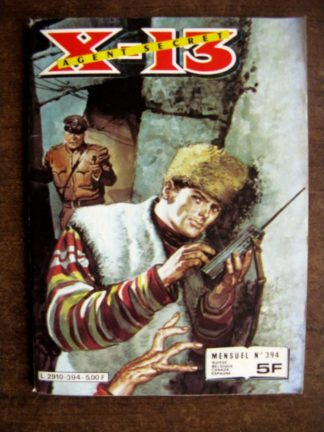 X13 AGENT SECRET N°394 Le guide (IMPERIA 1982)