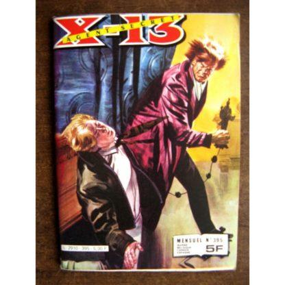X13 AGENT SECRET N°395 Partie d'échecs (IMPERIA 1982)