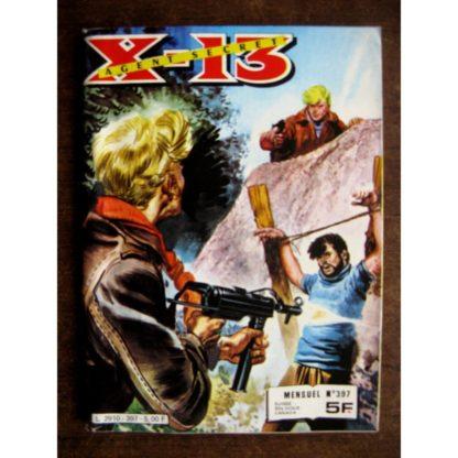 X13 AGENT SECRET N°397 L'homme diabolique (IMPERIA 1982)