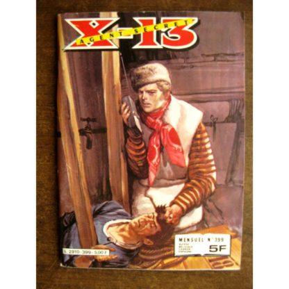 X13 AGENT SECRET N°399 Le commando disparu (IMPERIA 1982)