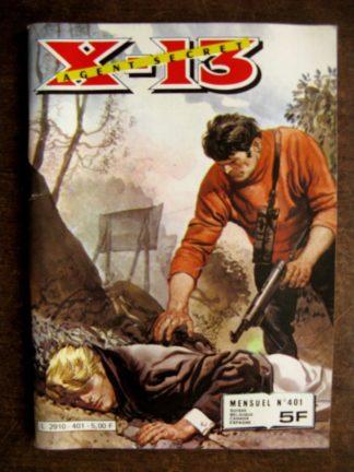 X13 AGENT SECRET N°401 Le dernier vol (IMPERIA 1983)