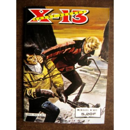 X13 AGENT SECRET N°403 Sursis (IMPERIA 1983)