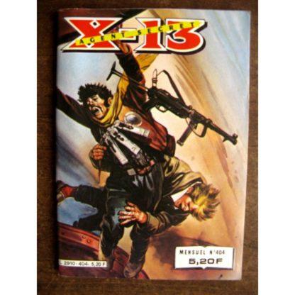 X13 AGENT SECRET N°404 Carte blanche (IMPERIA 1983)