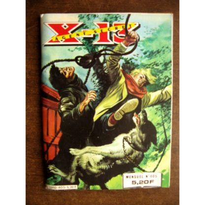 X13 AGENT SECRET N°405 Charges souterraines (IMPERIA 1983)