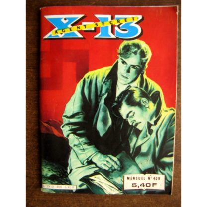 X13 AGENT SECRET N°409 La retraite (IMPERIA 1983)