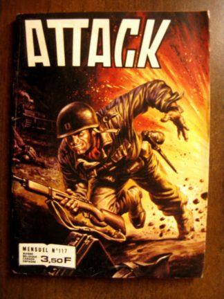 ATTACK (2E SERIE) N°117 (IMPERIA 1981)