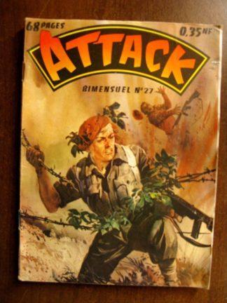 ATTACK (1E SERIE) N°27 (IMPERIA 1961)