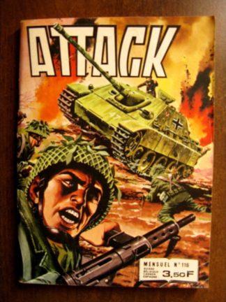 ATTACK (2E SERIE) N°116 (IMPERIA 1981)