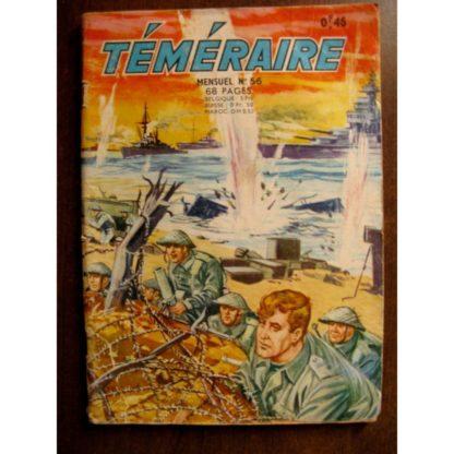 TEMERAIRE (1E SERIE) N°56 TOMIC - PILAR SANTOS (ARTIMA 1962)