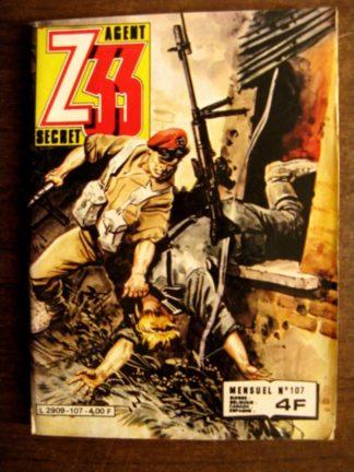 Z33 AGENT SECRET N°107 (IMPERIA 1981)