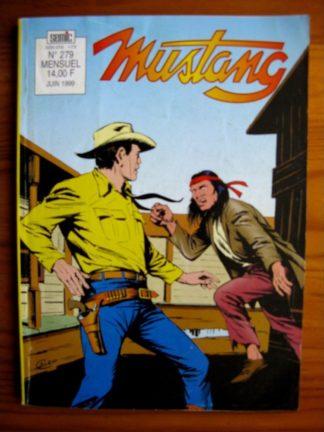 MUSTANG N°279 - TEX WILLER (Un étranger à Elk City - 3e partie) SEMIC 1999