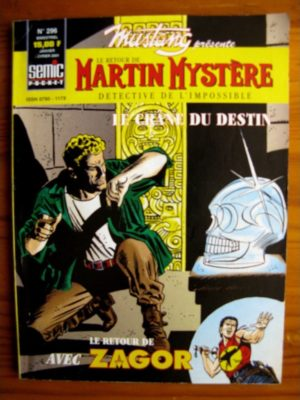 MUSTANG N°296 MARTIN MYSTERE - SEMIC 2001