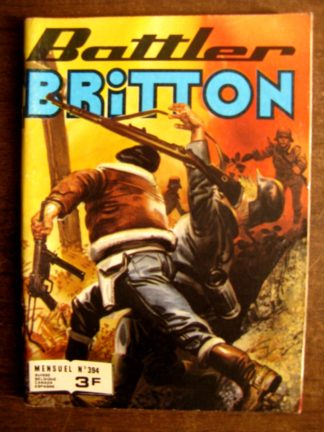 BATTLER BRITTON N°394 IMPERIA 1980