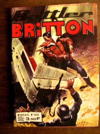 BATTLER BRITTON N°408 IMPERIA 1981
