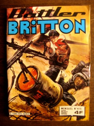 BATTLER BRITTON N°415 IMPERIA 1981