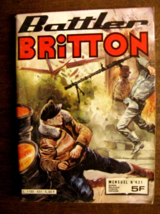BATTLER BRITTON N°431 IMPERIA 1983