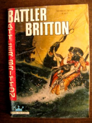 BATTLER BRITTON N°470 IMPERIA 1986