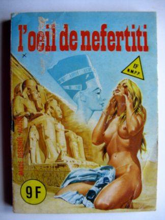 ELVIFRANCE SERIE ROUGE N°100 L'oeil de Néfertiti
