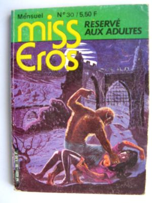 MISS EROS N°30 l'émigré - Editora 1980