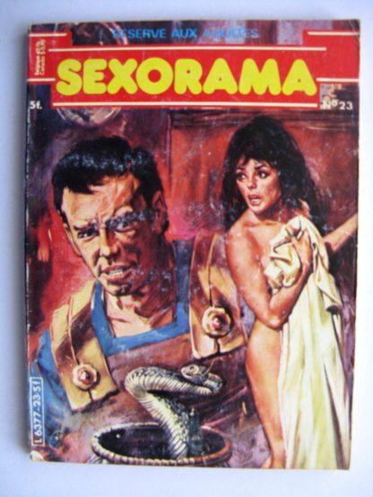 SEXORAMA N°23 Ote moi la toge, esclave - CAMPUS 1981