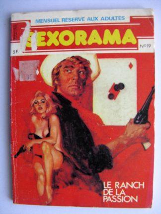 SEXORAMA N°19 Le ranch de la passion - CAMPUS 1981