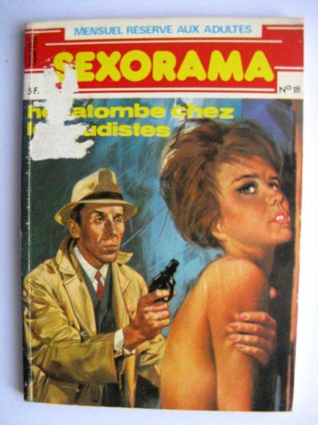 SEXORAMA N°18 Hécatombe chez les nudistes - CAMPUS 1981