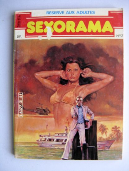 SEXORAMA N°21 Qui s'y frotte s'y pique - CAMPUS 1981
