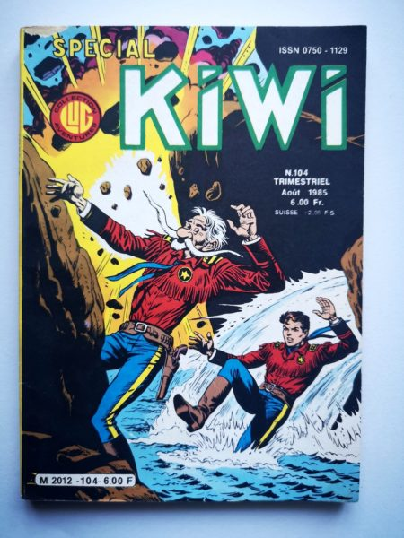 KIWI (spécial) n° 104 Le Petit Ranger (La mine maudite) LUG BD