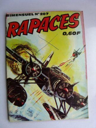RAPACES N°207 Top prioritaire (récit de guerre) Editions IMPERIA 1970