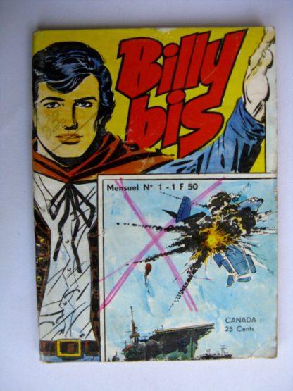 BD BILLY BIS N°1 Jeunesse et Vacances 1972