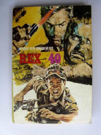 REX N°40 Mission tragique (récits de guerre) SNEC 1972