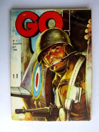 (BD) GO (La patrouille des éperviers) n°1 Un nid de guêpes (1) 1964