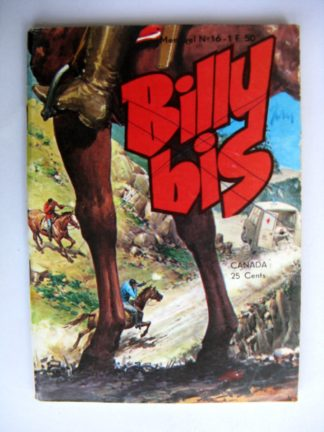 BILLY BIS N°16 Jeunesse et Vacances 1973 : La flèche d'or