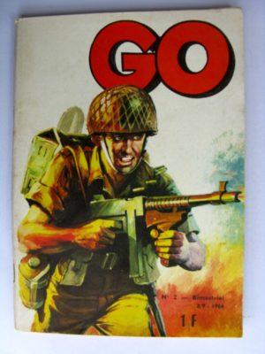 (BD) GO (La patrouille des éperviers) n°2 Un nid de guêpes (2e partie)