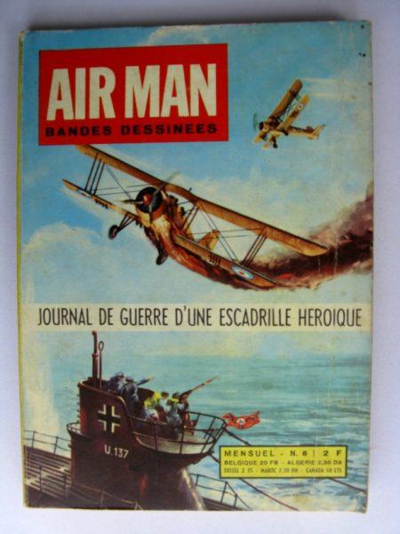 AIR MAN N°6 Le bateau fantôme (récits de guerre) Editions - GEMINI 1969