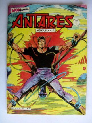 BD ANTARES n°37 : L'esclave - Les héros de Harlem - L'œil de Zoltec