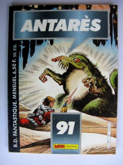 BD ANTARES n°91 : Le maître des océans - Le Faucon de l'Espace
