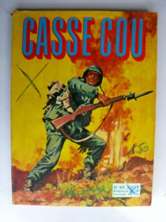 BD CASSE COU N°49 Raid en Birmanie SEPP 1975
