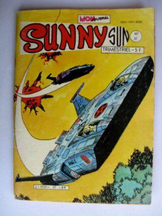 BD SUNNY SUN N°37 MON JOURNAL 1982 : SUPERCRACK